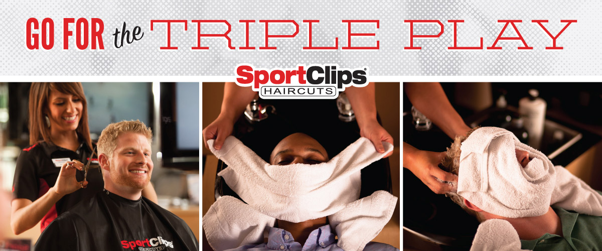 The Sport Clips Haircuts of Latrobe Triple Play